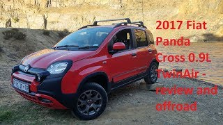 2017 Fiat Panda Cross 0.9L TwinAir review and offroad