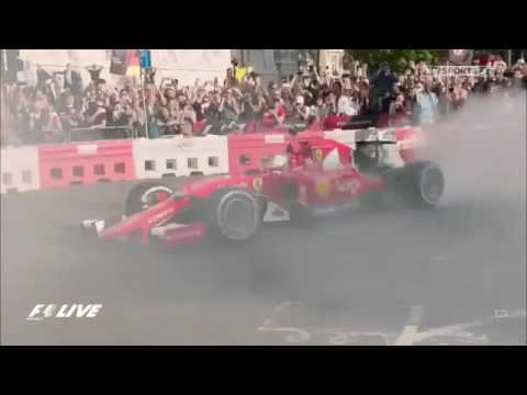 2017 F1 Live London | Show by Sebastian Vettel