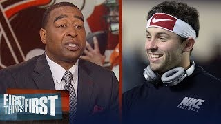 Cris Carter on why Baker Mayfield and Browns need HBO's Hard Knocks | NFL | FIRST THINGS FIRST