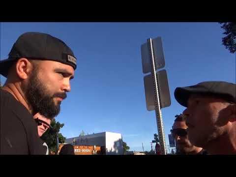 Antifa And Skinheads Unite Against Patriot Prayer