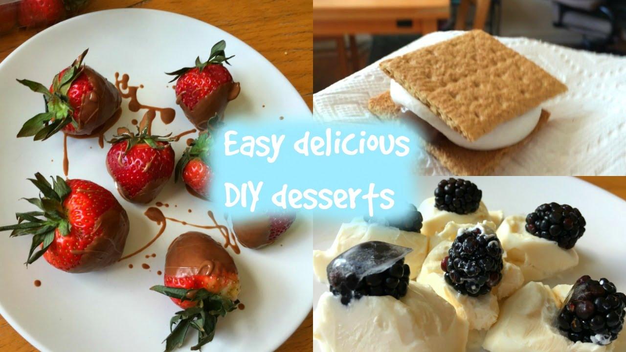 Easy delicious desserts DIY - YouTube