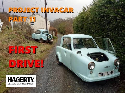 Project Invacar Part 11: Engine in, first start, FIRST DRIVE