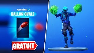 "JOUET ""BALLON OVALE"" FREE - NEW EMOTE (Fortnite Battle Royale)"