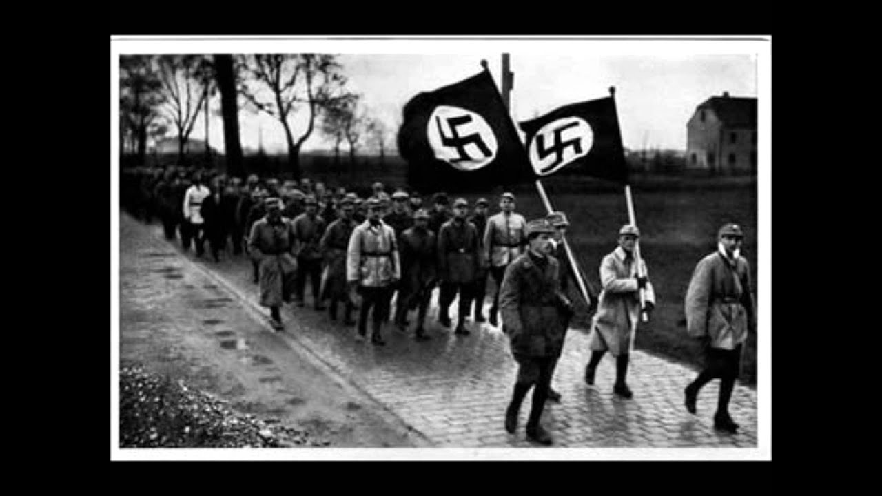 nazi party rises to power Nazi party, byname of national socialist german workers' party, german nationalsozialistische deutsche arbeiterpartei (nsdap), political party of the mass movement known as national socialism under the leadership of adolf hitler , the party came to power in germany in 1933 and governed by totalitarian methods until 1945.