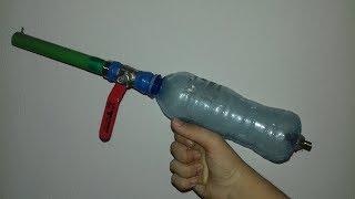 Kako napraviti vazdusni pistolj / homemade air pistol