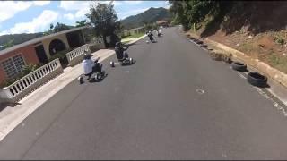 Gopro Hero 3 Drift Trike Puerto Rico Downhill