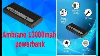 Ambrane 13000mah powerbank||Best under 1000||ambrane P-1310||