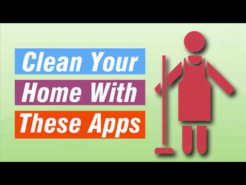 Clean Your Home With These Apps