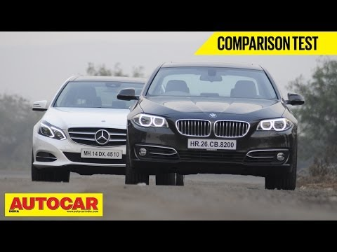 BMW 520d vs Mercedes Benz E250 CDi | Comparison Test | Autocar India