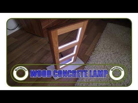 lampe-selber-bauen---holz-und-beton-diy