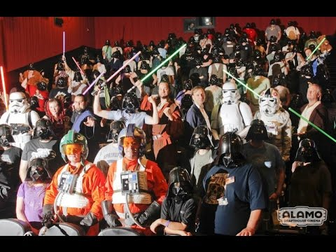 FIRST LOOK at Alamo Drafthouse in San Francisco! Star Wars Premiere Info & More!