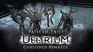 Path of Exile Delirium Challenge Rewards