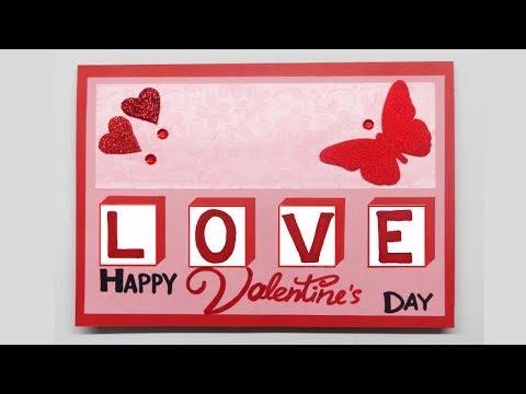 valentines-day-cards-|-valentine-cards-handmade-easy-|-love-greeting-cards-latest-design-handmade