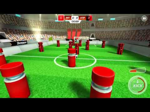 Superstar Pin Soccer (by Zeeppo) - sport game for android - gameplay.