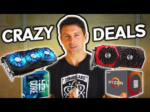 October's CRAZY TECH DEALS! for AUSSIES, US, UK & CA