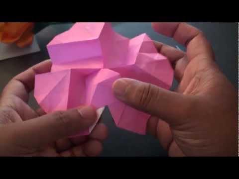 Origami Daily - 349: Kawasaki Rose Ver 1. - TCGames [HD]