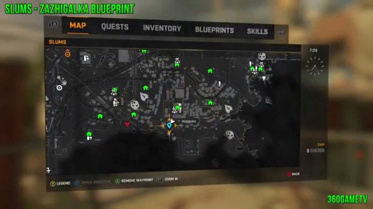 Dying light weapon locations old town lightneasy dying light 48 blueprint locations in slums you malvernweather Gallery
