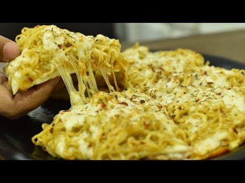 MAGGI + PIZZA = MAGGIZZA | Cheesiest Pizza Ever | Indian Street Food