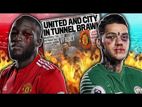 BREAKING: Manchester United & City Players To Face Bans For SECRET Derby Day Fight?! | W&L