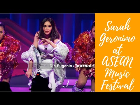 HD - Sarah Geronimo at ASEAN-Japan Music Festival 2018 [HIGHLIGHT]