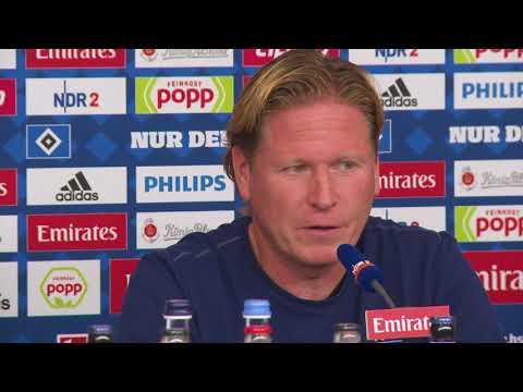 """HSV-Trainer Gisdol: """"Wir sind gegen Dortmund körperlich im Vorteil"""""""