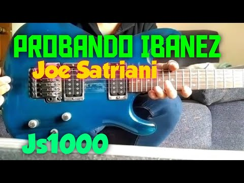 Probando JS 1000 IBANEZ