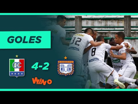 Once Caldas vs. Boyacá Chicó (4-2)   Liga BetPlay Dimayor 2021-1 - Fecha 15