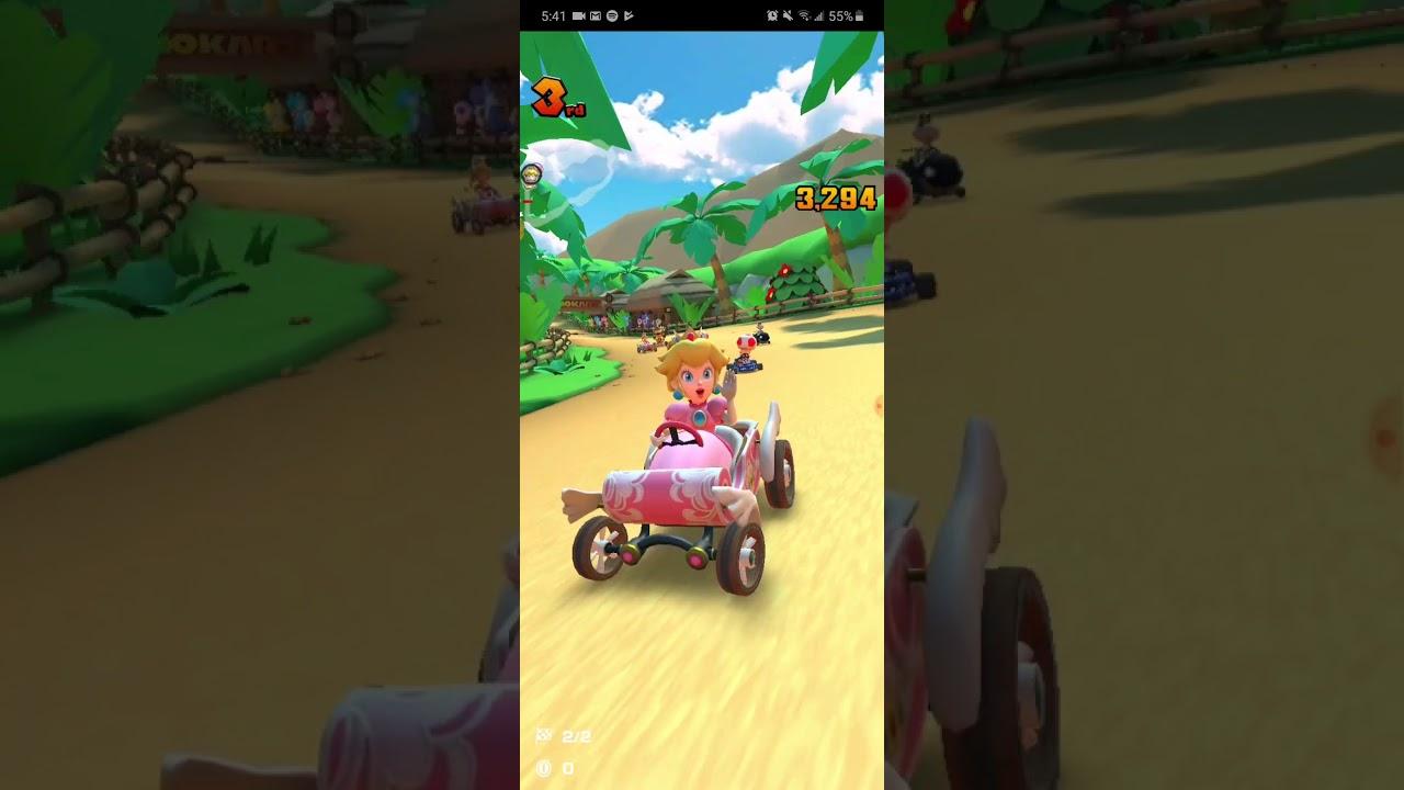 mario kart tour walkthrough part1 mario cupdk cup and