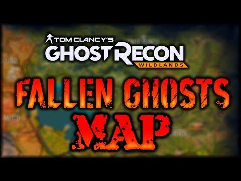Fallen Ghosts MAP - Ghost Recon Wildlands