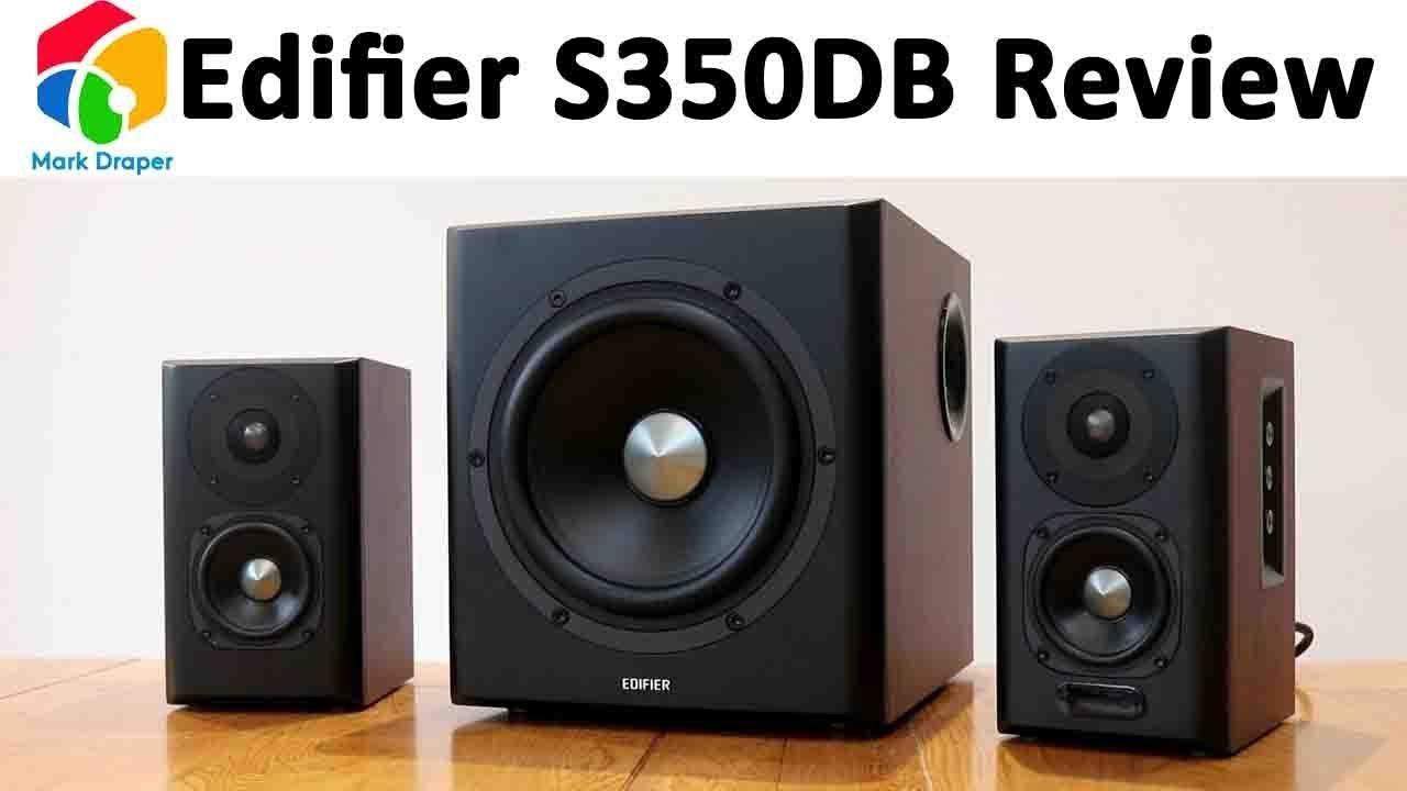 Edifier S350DB 21 Bookshelf Speaker And Subwoofer Review