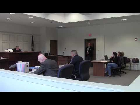 Renee's Speeding Ticket Trial | Sept 29, 2014