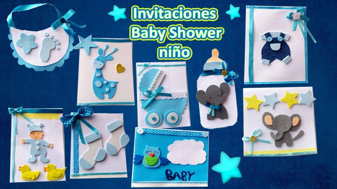 Baby Shower Invitaciones Manualidades Fáciles