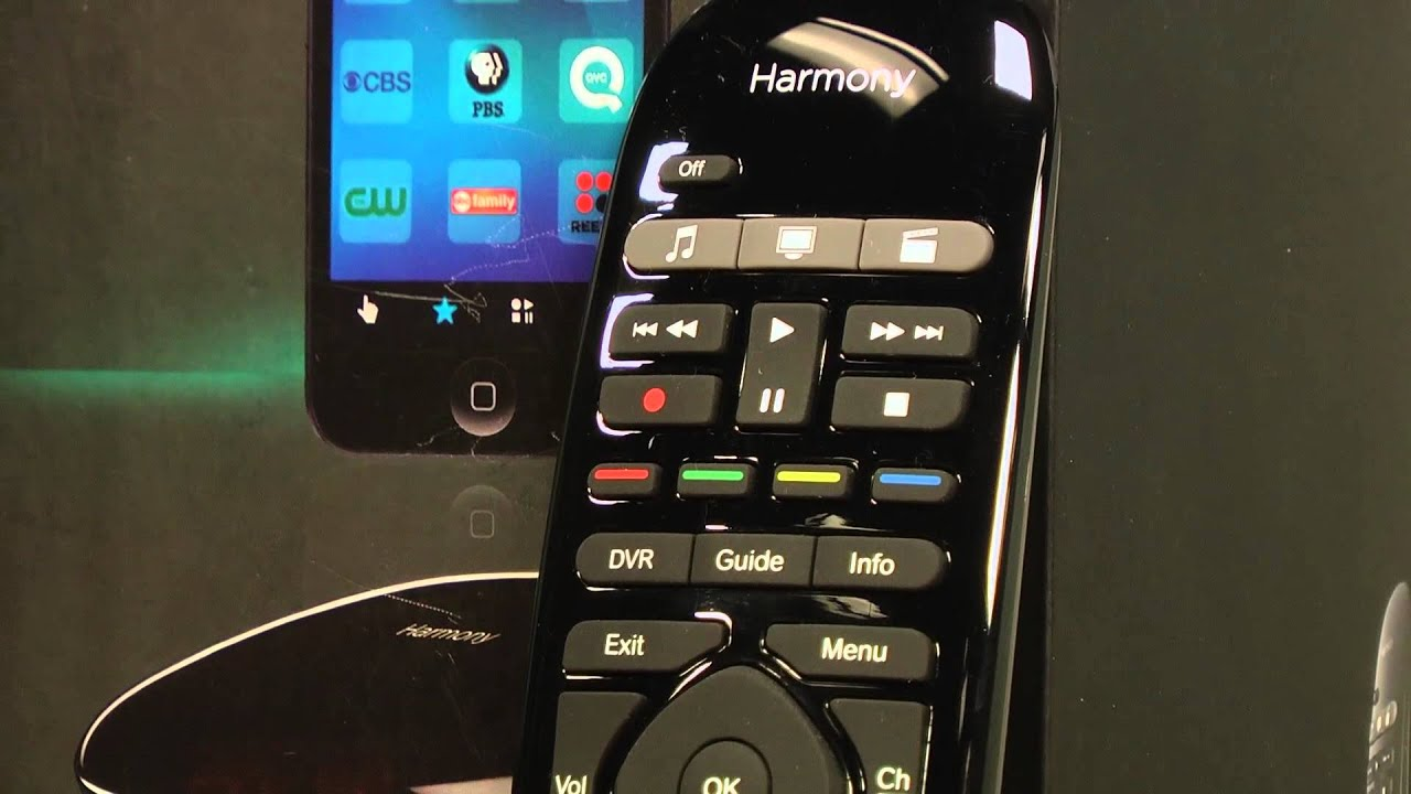 Logitech Harmony Ultimate & Smart Control Video Review