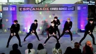 140518 Follow cover EXO - Talk Dirty + History + Overdose @Esplanade Cover Dance Contest (Audition)