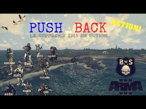 Arma 3 | Push Back | En action | Blastcore | Task force radio | JSRS | AGM