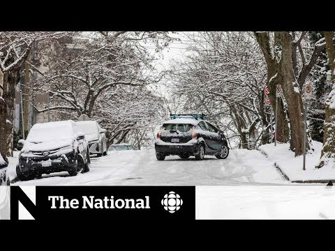 Western Canada Hit With Snow, Extreme Cold