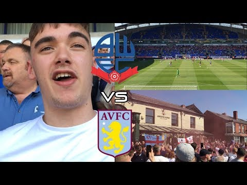 BOLTON WANDERERS 0-2 ASTON VILLA | AWAY DAYS | 19/4/19 | *VLOG | 9 WINS IN A ROW!!!