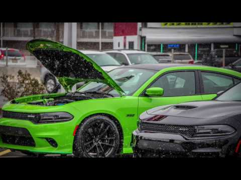 17 Green Go Daytona 392 interior and new UCONNECT