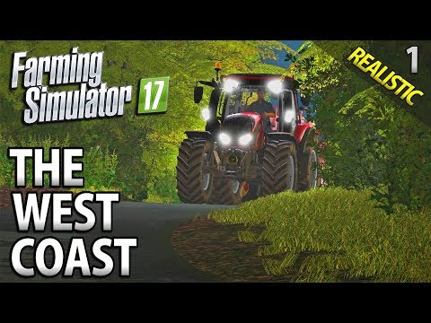 Let's Play Seasons Farming Simulator 17 | The West Coast | Episode 1