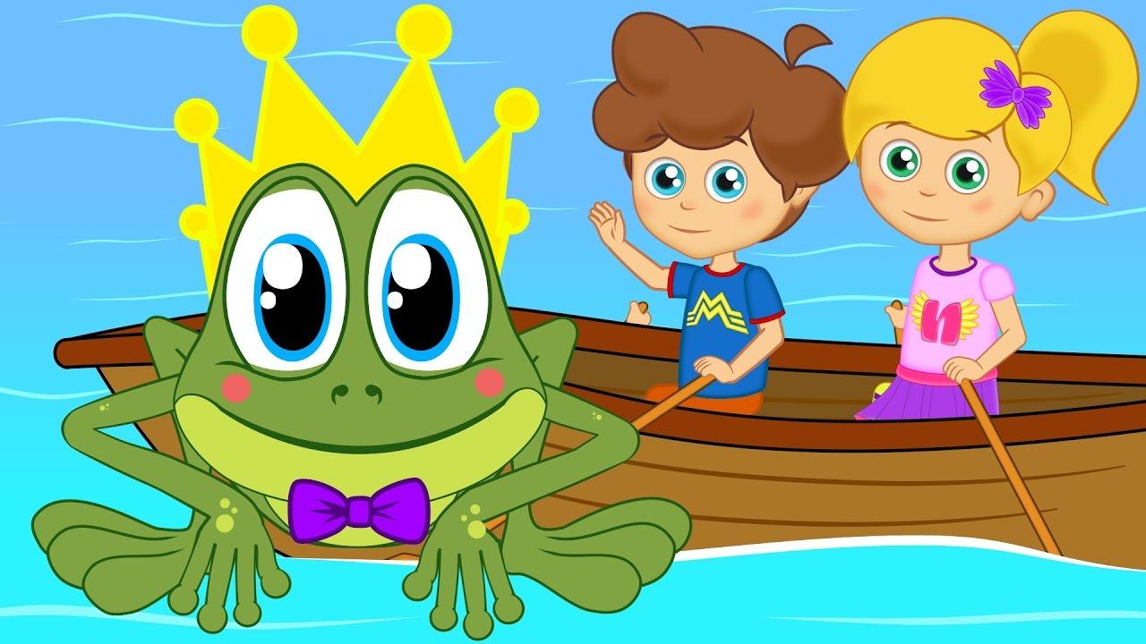 Küçük Kurbağa Sevimli Dostlar Çizgi Film Bebek Şarkıları | Adisebaba TV Çocuk Şarkıları 2017