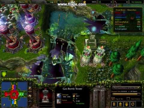 tower defense maps for warcraft 3