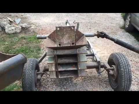 Home made jaw rock crusher
