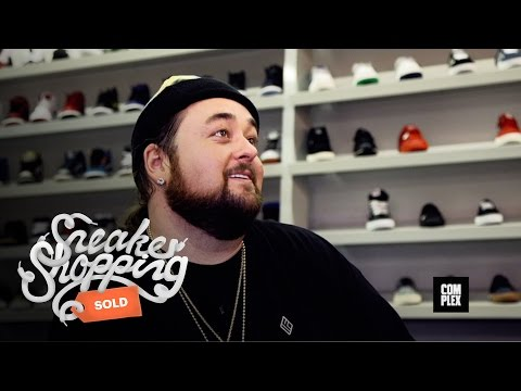 Chumlee Goes Sneaker Shopping with Complex