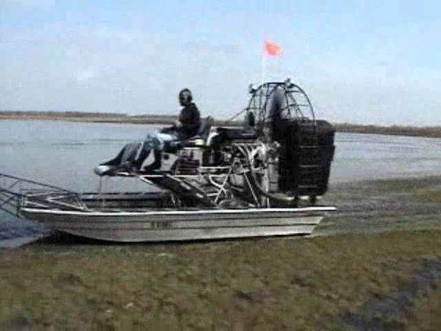 Having Fun with a 14ft AGS Airboat