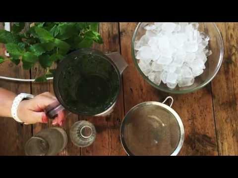 Kale and Mint Vodka Crush