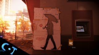 inFamous Second Son: Motion Control Spray Painting