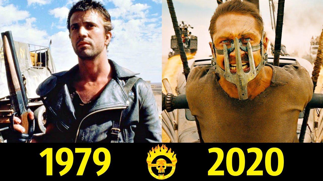👿 Безумный Макс - Эволюция (1979 - 2020) ! Все Появления Макса Рокатанского 👊!