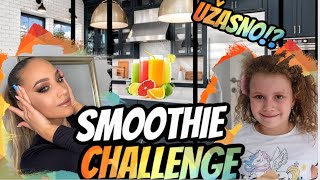 SMOOTHIE CHALLENGE SA SESTROM!