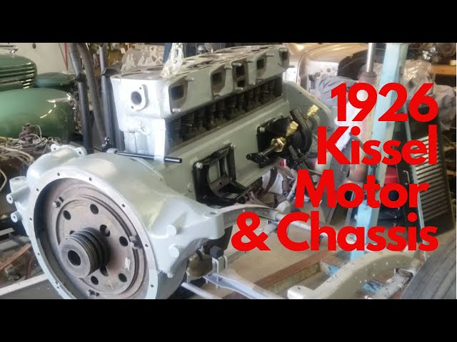 1926 Kissel Chasis and Motor - 1926 Kissel 6-55 Brougham Part 7