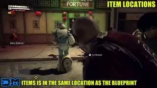 Dead Rising 3 - Dragon Punch - Blueprint Location W/ Gameplay! - Street Fighter Reference - Xbox One
